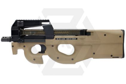 WE/Cybergun GBB P90 (Tan) © Copyright Zero One Airsoft