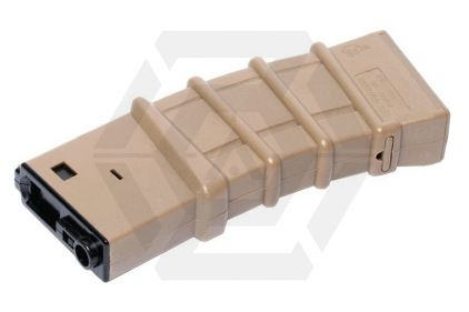 G&G AEG Thermold Mag for M4 450rds (Tan) © Copyright Zero One Airsoft