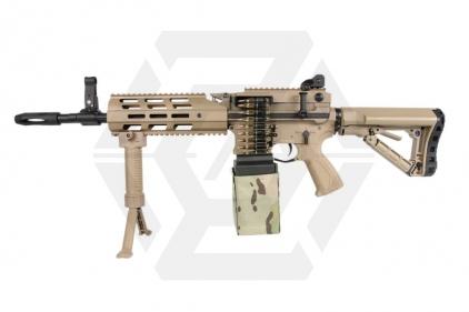 G&G Combat Machine AEG CM16 LMG with ETU (DST) © Copyright Zero One Airsoft