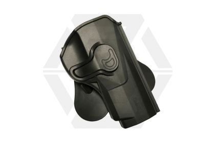 Amomax Rigid Polymer Holster for PX4 Storm (Black) © Copyright Zero One Airsoft
