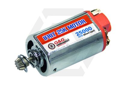 G&G Ifrit 25K Motor with Short Shaft for High Torque & High Speed