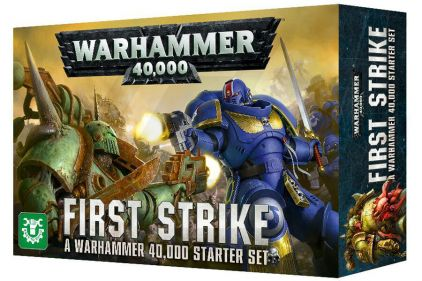 Games Workshop Warhammer 40,000 First Strike Starter Set