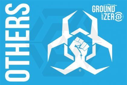 Ground Zero Flag 'The Others' - 100cm x 150cm © Copyright Zero One Airsoft