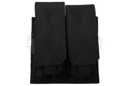Mil-Force Double Mag Pouch for M4 (Black)