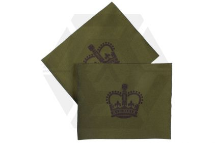 Combat Patch Pair - WO2 (Subdued) © Copyright Zero One Airsoft
