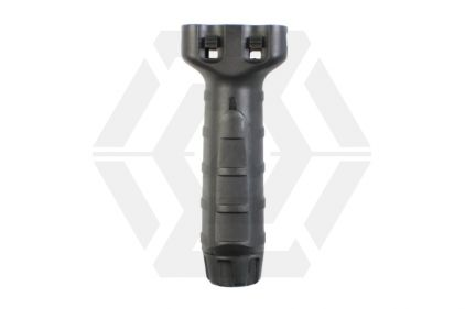 King Arms RIS Tactical Vertical Foregrip - Black © Copyright Zero One Airsoft