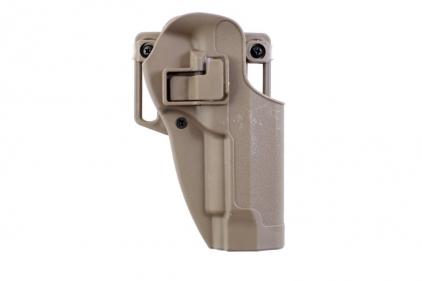 EB CQC SERPA Holster for Beretta M92F (Tan) © Copyright Zero One Airsoft