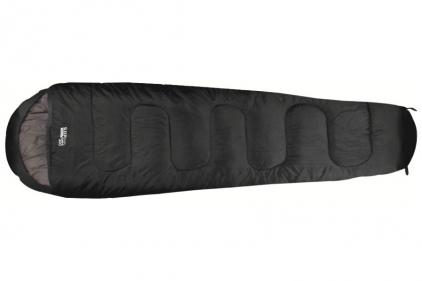 Highlander Sleepline 300 Mummy Sleeping Bag (Black)