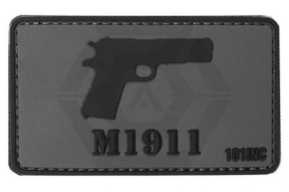 "101 Inc PVC Velcro Patch ""M1911"""