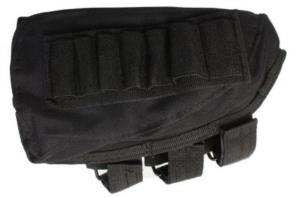 Mil-Force Cheek Pad Ammo Pouch (Black)