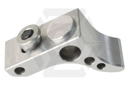Speed Airsoft Curved Front Stop for KeyMod (Silver)