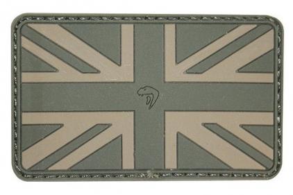 Viper Velcro PVC Union Flag Patch (Olive)