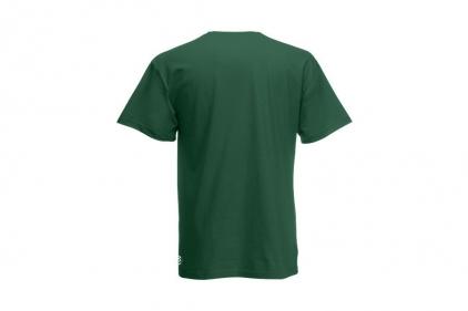 Daft Donkey Christmas T-Shirt 'Merry Christmas You Filthy Animal' (Green) - Size Large