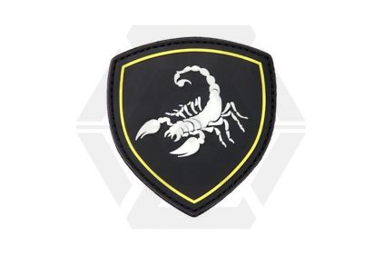 "101 Inc PVC Velcro Patch ""Scorpio"""