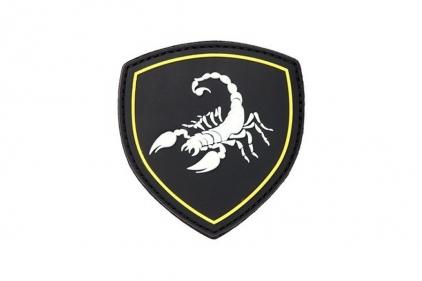 """101 Inc PVC Velcro Patch """"Scorpio"""""""
