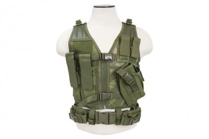 NCS VISM Kids Tactical Vest (Olive)