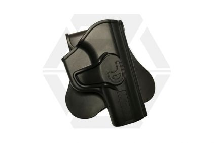 Amomax Rigid Polymer Holster for Makarov (Black) © Copyright Zero One Airsoft