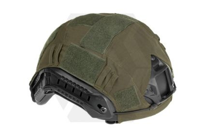 Invader Gear Fast Helmet Cover (Olive) © Copyright Zero One Airsoft