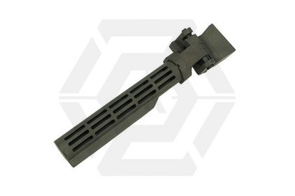 King Arms Folding Stock Tube for AK (Olive)