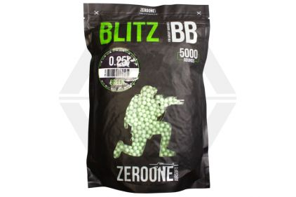 Zero One Blitz BB 0.25g 5000rds (Green)
