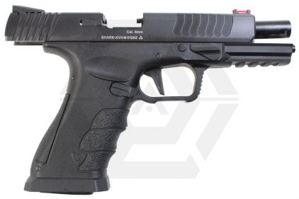 APS GBB CO2 Shark with Full-Auto (Black)