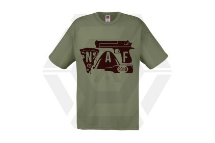 Daft Donkey Special Edition NAF 2018 'Airsoft Festival' T-Shirt (Olive)