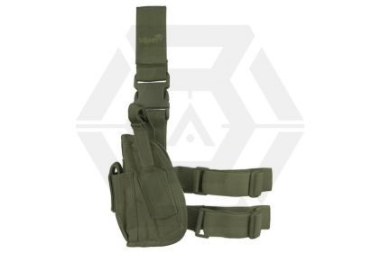Viper Pistol Drop Leg Holster Left Hand (Olive) © Copyright Zero One Airsoft