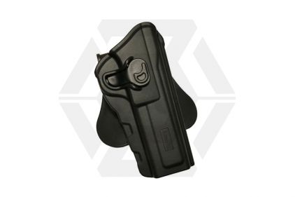 Amomax Rigid Polymer Holster for Browning (Black) © Copyright Zero One Airsoft
