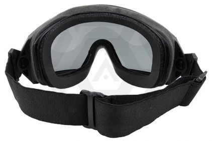 FMA Regulator Goggles with Clear/Tinted Lenses (Black)