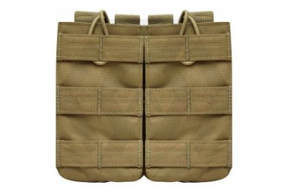 Viper MOLLE Quick Release Double Mag Pouch (Coyote Tan) © Copyright Zero One Airsoft