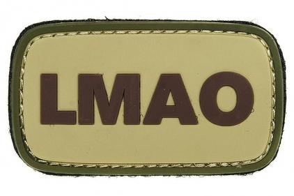 "VOS PVC Velcro Patch ""LMAO"""