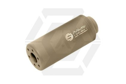 G&G Suppressor 14mm CCW / CW SS-80 (Tan) © Copyright Zero One Airsoft