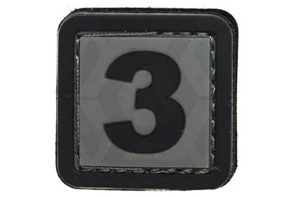 "VOS PVC Velcro Patch ""3"""