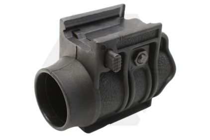 "EB 1"" Flashlight Mount (Black)"