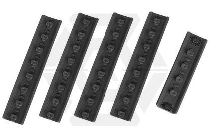G&P KeyMod Handguard Finger Stop Set (Black)