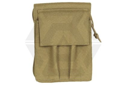 Viper MOLLE A6 Notebook Holder with Waterproof Notebook (Coyote Tan) © Copyright Zero One Airsoft