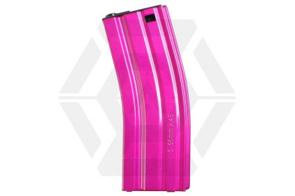 G&G AEG Mag for M4 30rds (Pink) © Copyright Zero One Airsoft