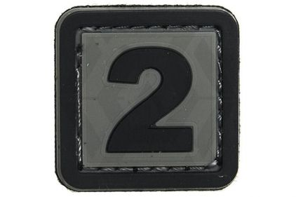 "VOS PVC Velcro Patch ""2"""