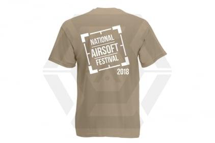 Daft Donkey Special Edition NAF 2018 'Original Logo' T-Shirt (Tan)