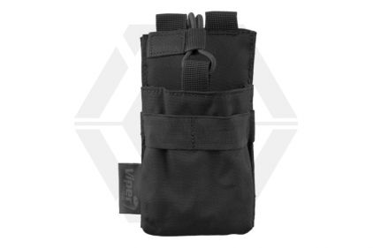 Viper MOLLE GPS/Radio/Phone Pouch (Black) © Copyright Zero One Airsoft