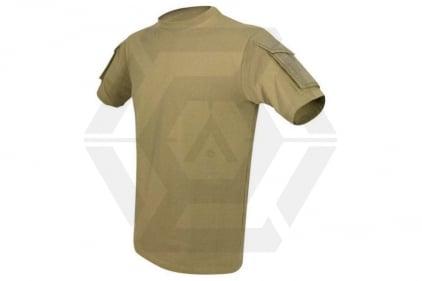 Viper Tactical T-Shirt (Coyote Tan) - Size Medium © Copyright Zero One Airsoft
