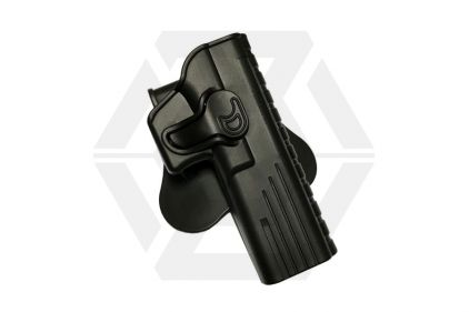 Amomax Rigid Polymer Holster for GK34 (Black) © Copyright Zero One Airsoft