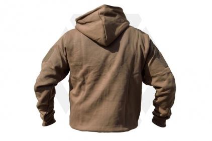Viper Tactical Zipped Hoodie (Coyote Tan) - Size Medium