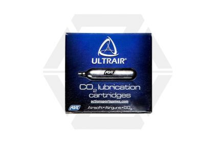 ASG ULTRAIR 12g CO2 Lubrication Capsule (Pack of 5) © Copyright Zero One Airsoft