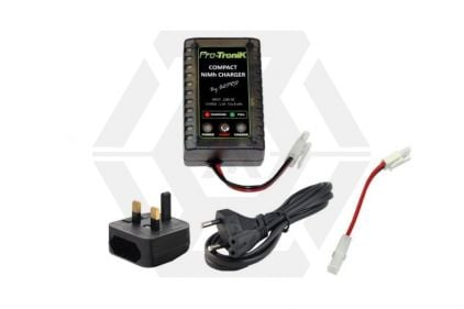 WE Compact NiMH Fast/Trickle Charger with Dual Plug