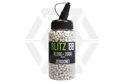 Zero One Blitz BB 0.20g 2000rds Speedloader (White)