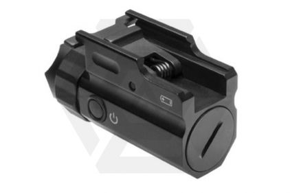 NCS LED Illuminator for RIS Rails & Pistols with Strobe