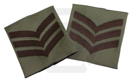Combat Patch Pair - Sgt (Subdued)