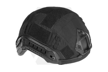 Invader Gear Fast Helmet Cover (Black) © Copyright Zero One Airsoft