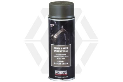 Fosco Army Spray Paint 400ml (Ranger Green) © Copyright Zero One Airsoft